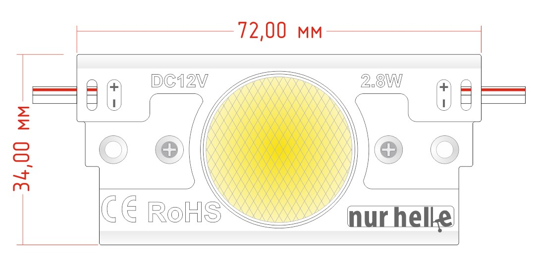 ARION RGB - управляемый светодиодный светильник с RGB