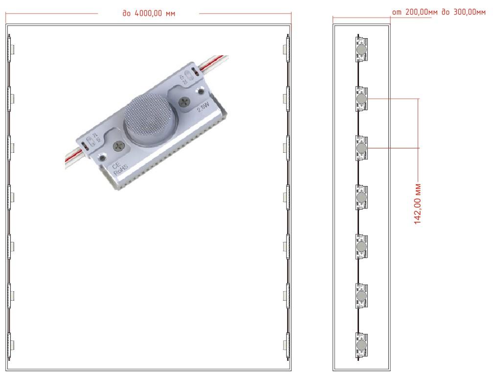 Прожектор светодиодный 50 вт уличный купить в леруа мерлен цена