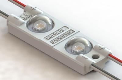 Светодиодный модуль с линзой OPTIMA 2 белый SMD2835 0.72W 160° 12V  купить недорого в Екатеринбурге по низким ценам в интернет-магазине eds-ls.ru
